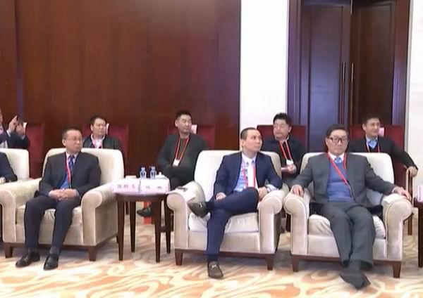 李井海率团出席首届世界赣商大会